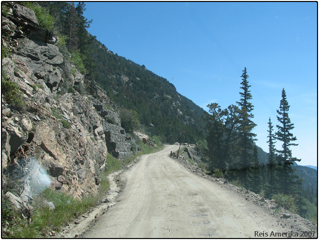 Rocky Mountain NP: Old Fall River Road