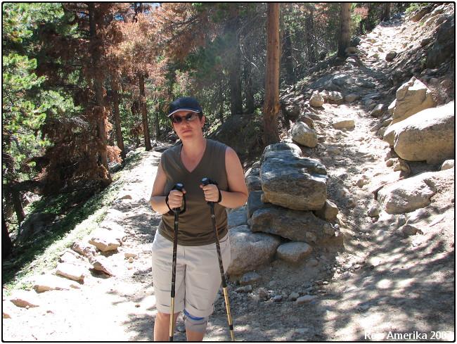 Rocky Mountain NP: Trail naar Bierstadt Lake